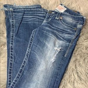 Vintage big star boot cut jeans